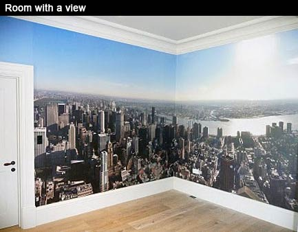 Flower Delivery  on Printed Space  New York Panoramic