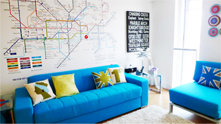 Bespoke digital photo canvas wallpaper wall murals roller for the millions of passengers who use londons public transport system every day these maps are invaluable and their style has become an iconic symbol sciox Images
