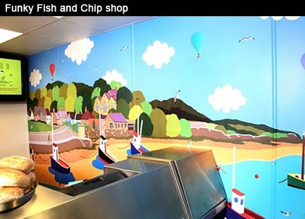 Funky Fish and Chip shop